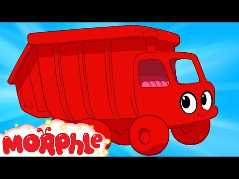 My Red Garbage Truck  (+ Morphle compilation) My Magic Pet Morphle Episode #28