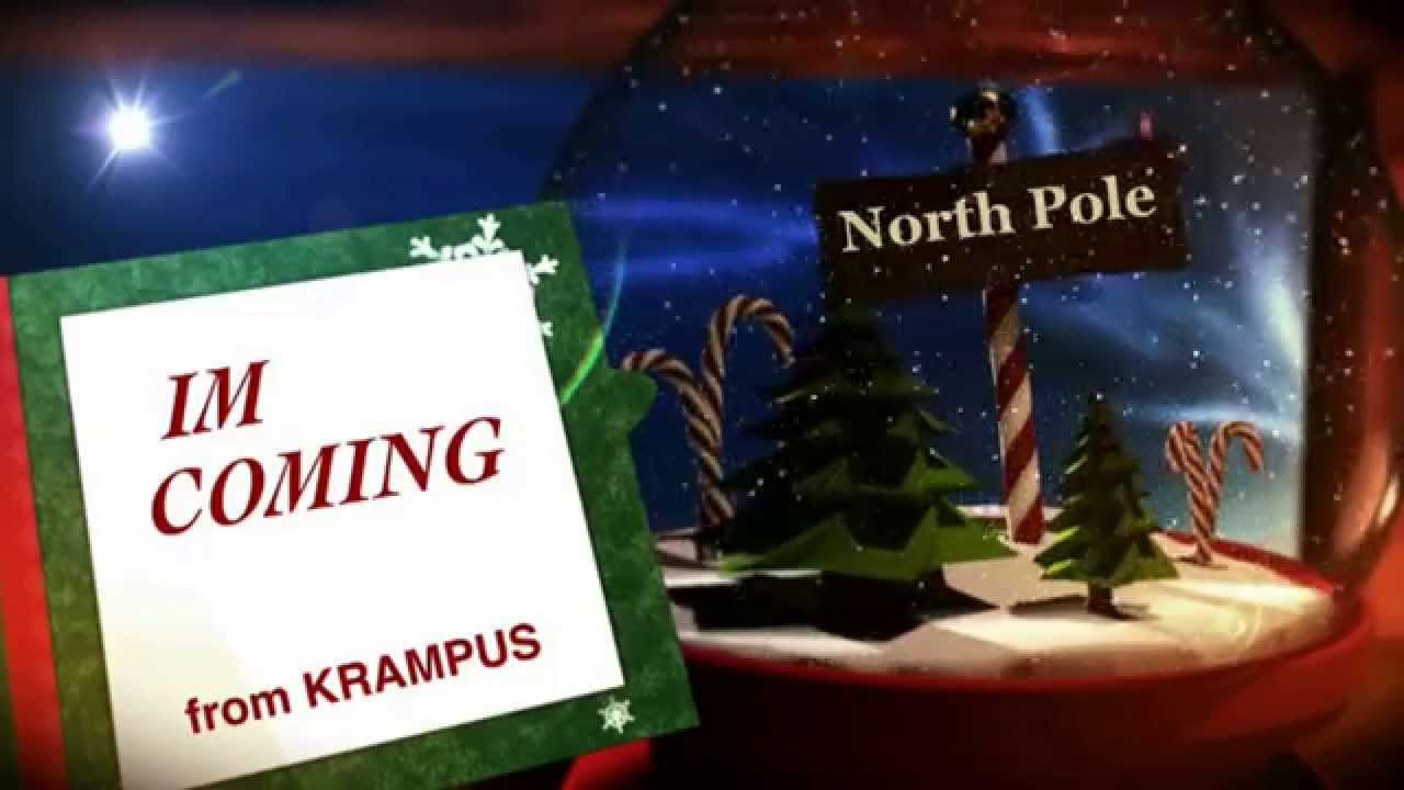 KRAMPUS TRAILER: The Christmas Devil - YouTube