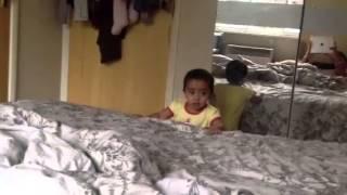 Lasya gugu playing with Sis and Dad Thumbnail