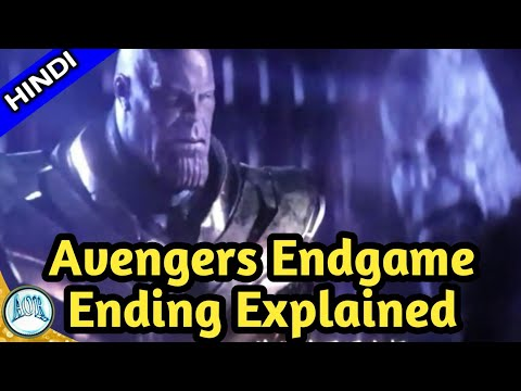 Avengers 4: Endgame Ending  explained in Hindi || Changing AOR || IRON MAN