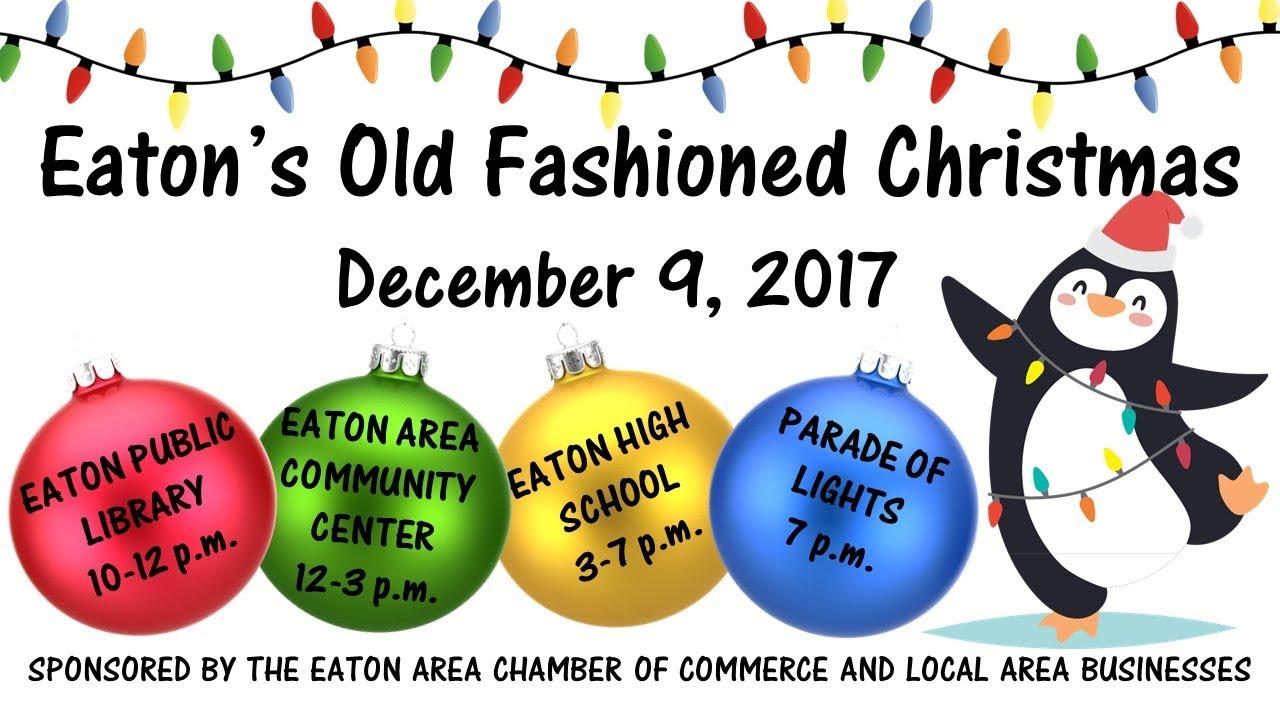 Eaton Co Old Fashioned Christmas 2020 Eaton's Old Fashioned Christmas