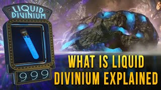 What is Liquid Divinium Explained | Divinium Element 115 | Black Ops 3 Zombies Storyline