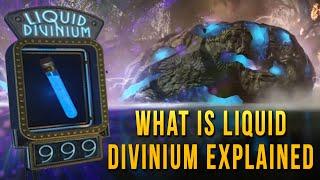 What is Liquid Divinium Explained | Divinium Element 115 | Black Ops 3 Zombies Storyline