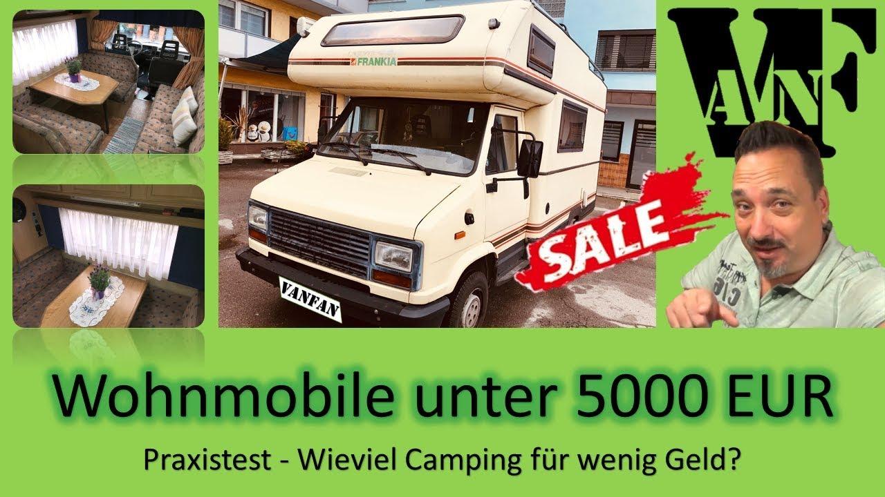 77 Gebrauchtes Wohnmobil Unter 5000 Eur Leben Im Wohnmobil Low Budget Youtube