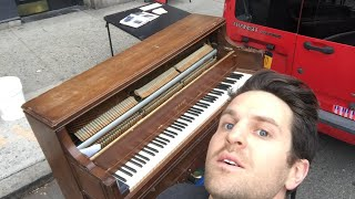 3 hours of Street piano in NYC - December 3, 2017