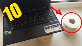 Топ 10 ЛАЙФХАКОВ для компьютера