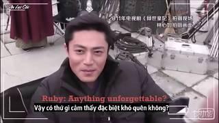 [Vietsub] Hoắc Kiến Hoa trò chuyện cùng Lâm Tâm Như | Hậu trường Khuynh Thế Hoàng Phi