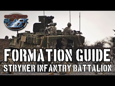 CMBS Formation Guide: Stryker Infantry Battalion