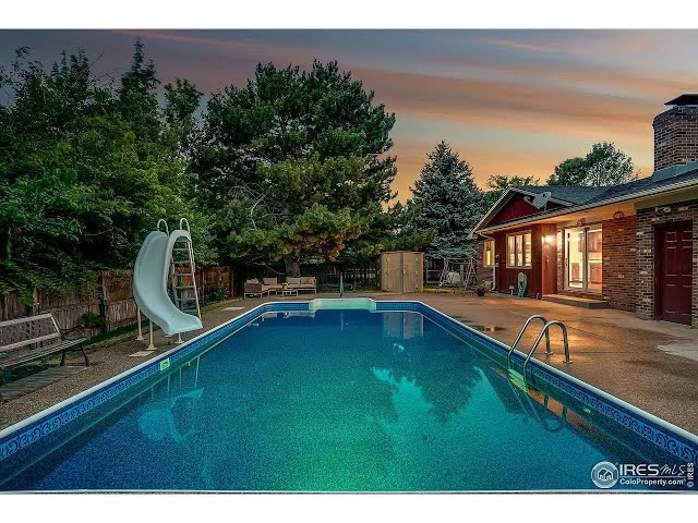 Fall in LOVE with this Loveland Ranch with a Swimming Pool! 1420 Antero Dr