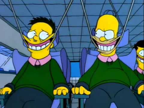 The Simpsons - Re-Neducation Center - Big Smile :D - YouTube