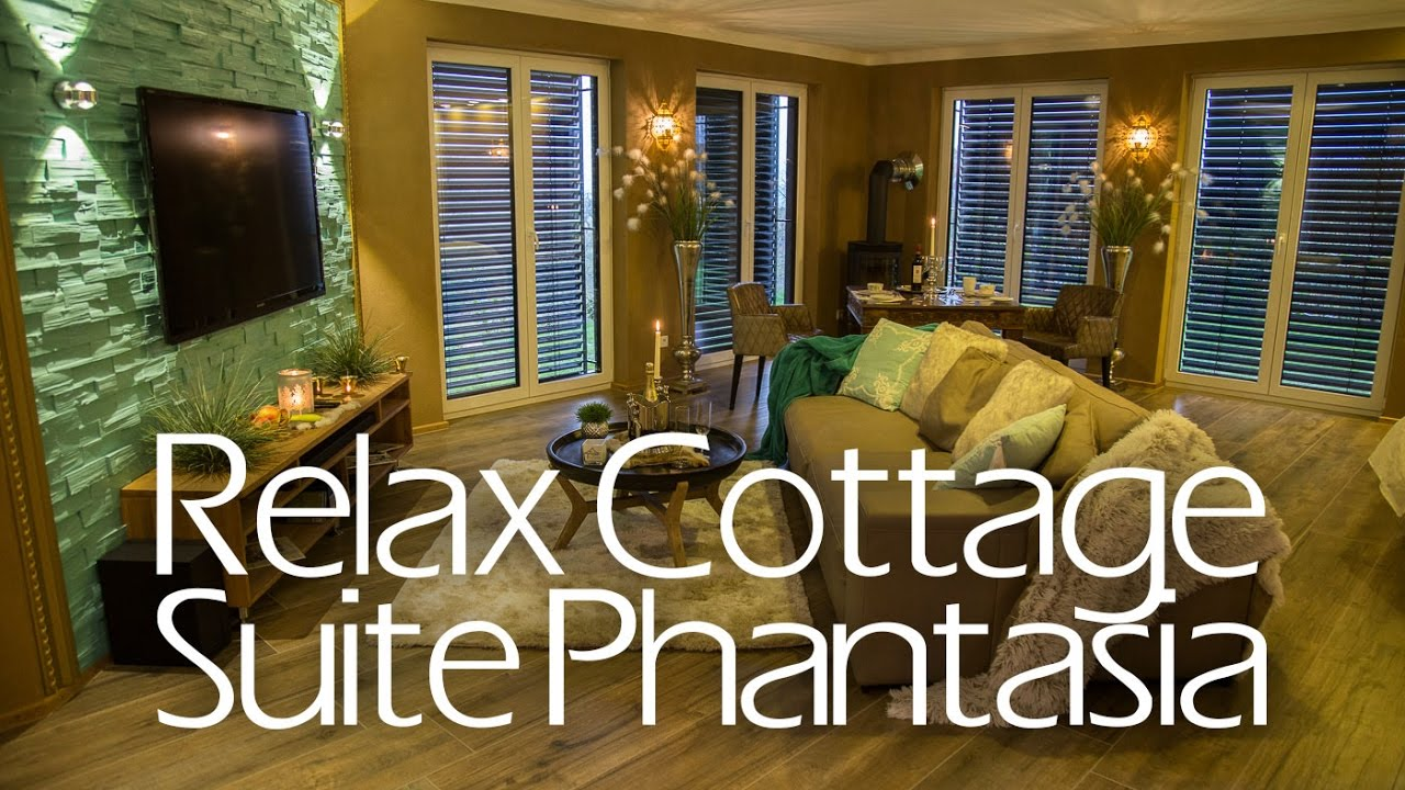 Relax Cottage Suite Phantasia: Roomtour, Whirlpool, Auszeit zu 2.