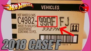 Complete Hot Wheels Car 2018 Case F - Exclusive [COLLAB][Unboxing]