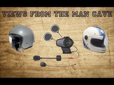 Sena 10s Bluetooth Intercom - Review & Road Test On Retro Helmets
