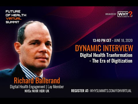 Digital Health Transformation - The Era of Digitization | Richard Ballerand