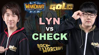 WC3 - WGL Winter '19 - Quarterfinal: [ORC] Lyn vs. Check [NE]