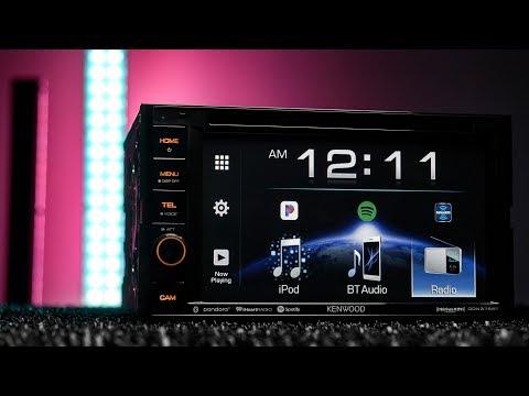 Kenwood DDX376BT EXcelon - Double DIN, Bluetooth, DVD Stereo
