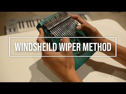 Windshield Wiper Method - Kalimba Lesson Tutorial