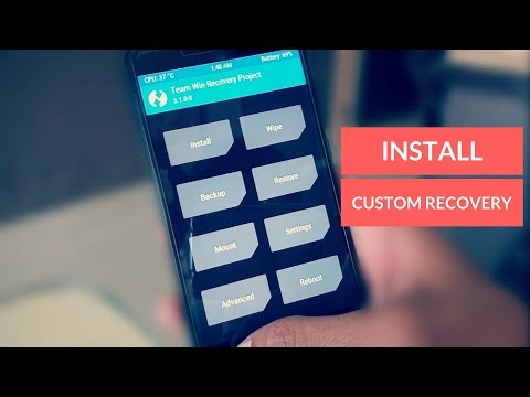 How to Install TWRP & Redwolf Custom Recovery on any Android Device