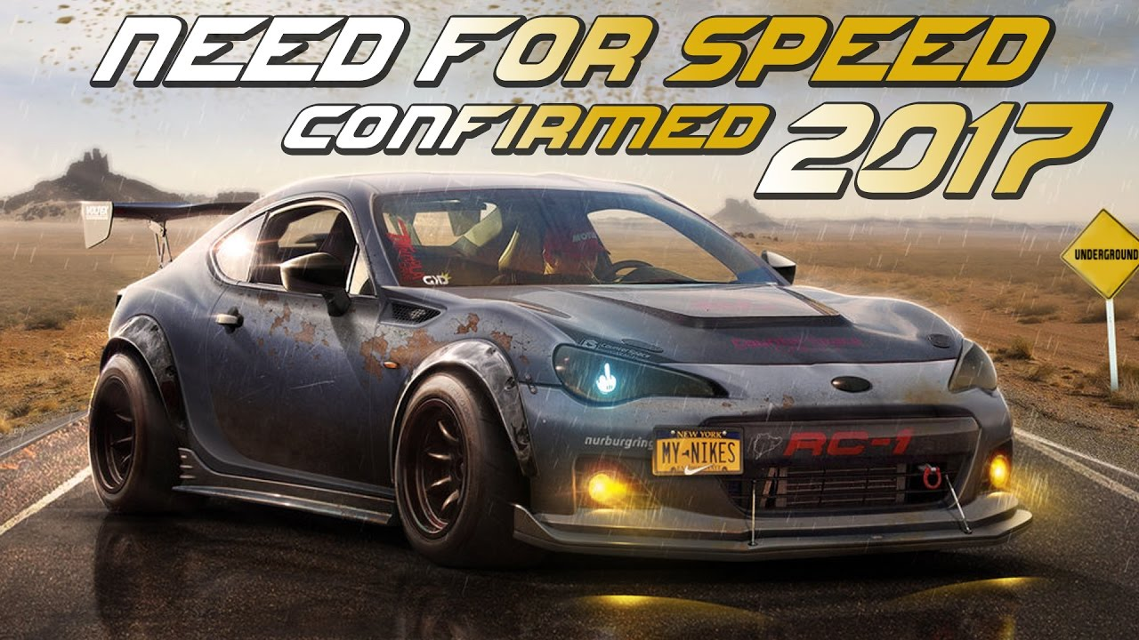 need for speed 2017 confirmed release before march 2018 and underground 3 rumor youtube. Black Bedroom Furniture Sets. Home Design Ideas