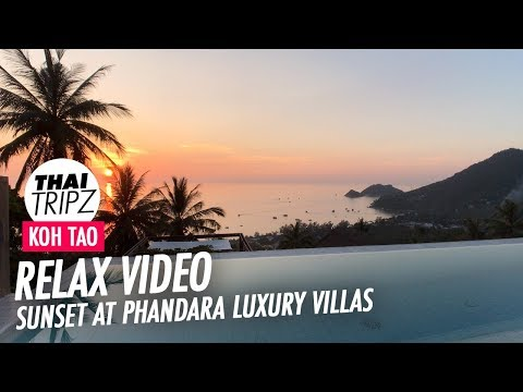 Phandara Luxury Villas - Villa 1 - Sunset View -  Koh Tao 4K
