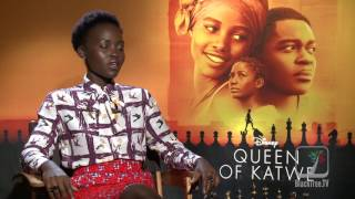 Lupita Nyongo Interview Queen of Katwe