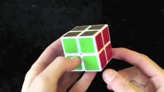 how to tension a 2x2 rubiks cube