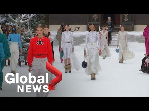 Paris Fashion Week: Chanel showcases last designs by Karl Lagerfeld