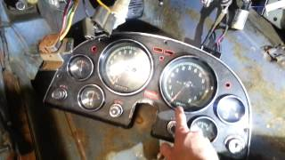1966 Corvette-Instrument cluster removal