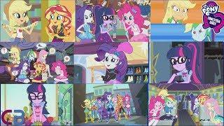 Equestria Girls Mini Series Season 1  Compilation