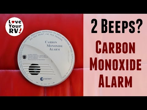 My RVs Carbon Monoxide Detector Was Beeping Twice? - YouTube