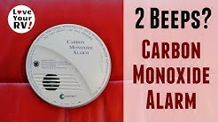 My RVs Carbon Monoxide Detector Was Beeping Twice?