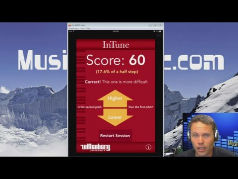 The InTune Ear Trainer App for iOS Music Ed Minute E10