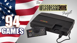 The TurboGrafx-16 Project - AĮl 94 TG16 Games - Every NTSC-U Game (USA only)