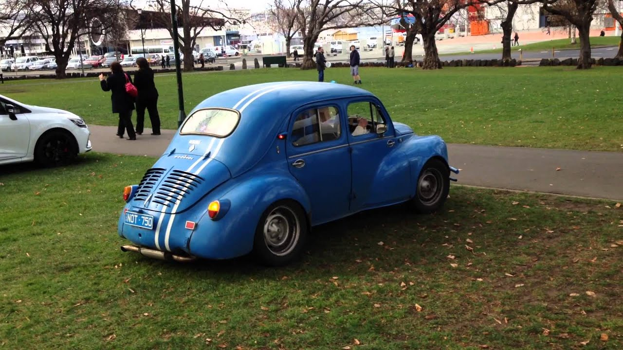 renault 4cv with alpine engine