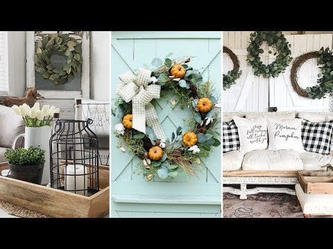 ❤DIY Rustic Farmhouse style Wreath decor Ideas❤ | Rustic home decor | Flamingo Mango