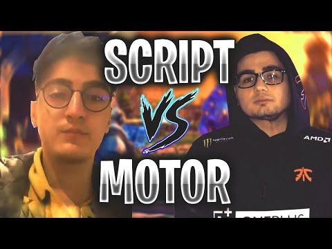 SCRIPT VS MOTOR   Fortnite creative 1 vs 1