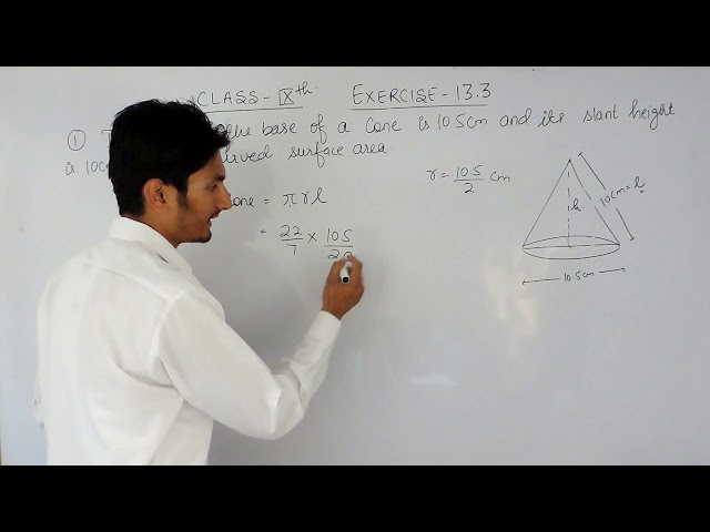 Exercise 13.3  Question -1  NCERT/ CBSE Solutions for class 9th maths