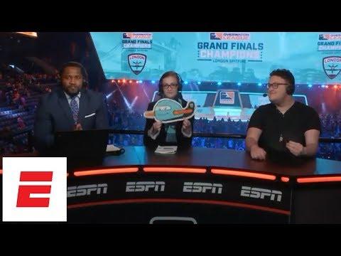 Overwatch League grand finals 2018 esports post-show: London Spitfire wins, Profit takes MVP | ESPN thumbnail