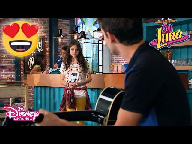 Matteo'nun Duygusal Şarkısı💞🎤 | Soy Luna | Disney Channel Türkiye