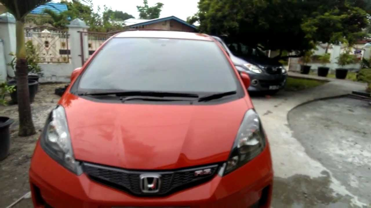 Honda Jazz Rs Manual 2013 Youtube