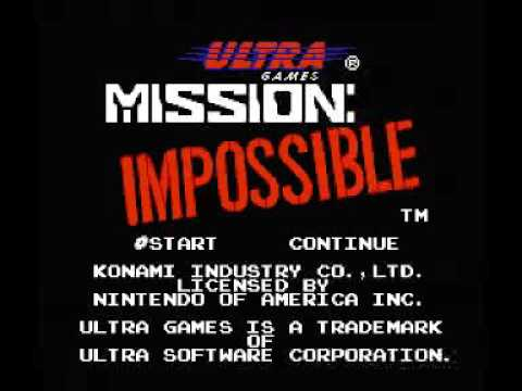 Mission - Impossible (NES) Music - Stage 01 Sewers
