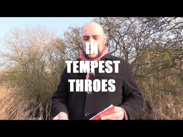 In Tempest Throes ~ A Poem by Shane M. O'Sullivan