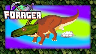 How to get dino egg? - Forager gameplay live stream