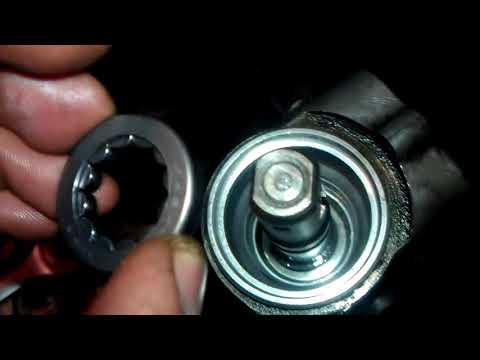 Opel Vectra C ремонт рулевой рейки