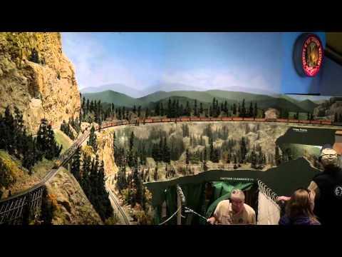 Union Pacific  Super Trains at Colorado Model Railroad Museum