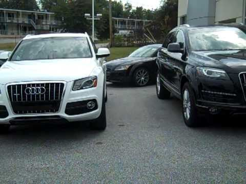 2011 audi q5 vs 2011 audi q7 steve white audi greenville. Black Bedroom Furniture Sets. Home Design Ideas