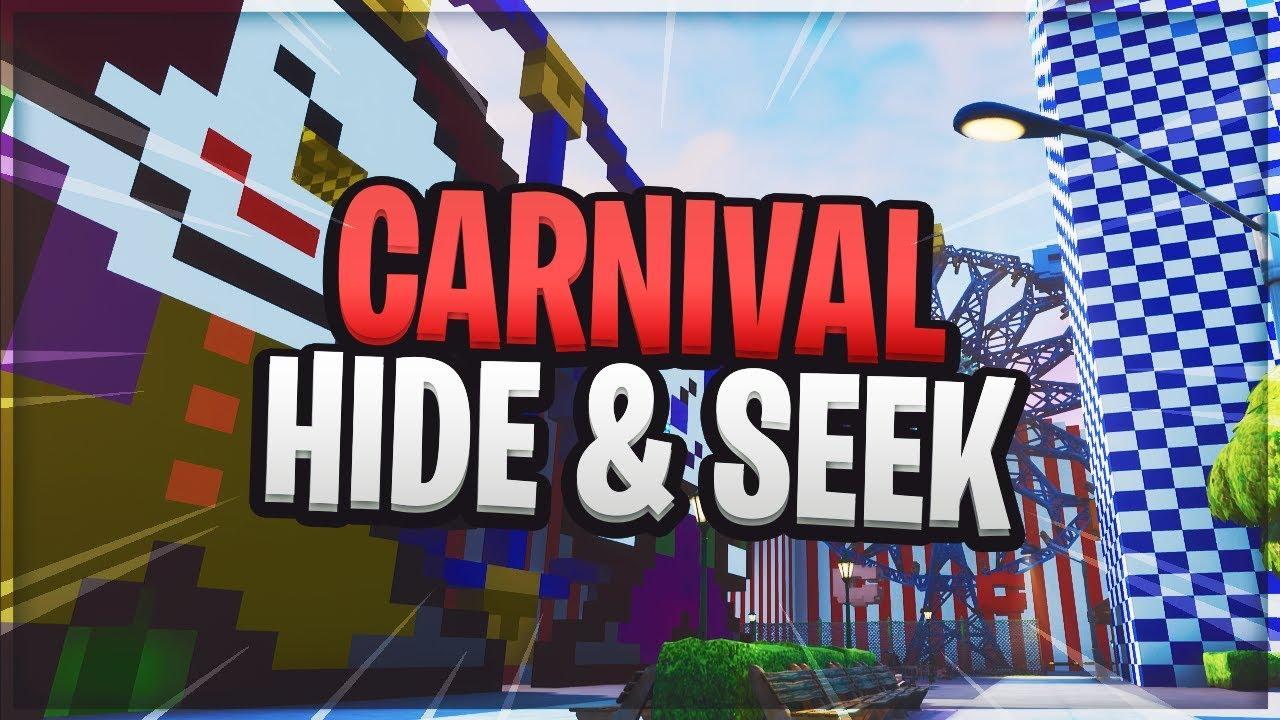 Fortnite Carnival Hide and Seek Map! - Fortnite Creative ...