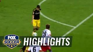 Christian pulisic scores a brilliant goal vs. hamburg for 3-0 lead | 2017-18 bundesliga highlights