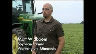Meet Matt Widboom: A Soybean Farmer from Worthington, Minnesota