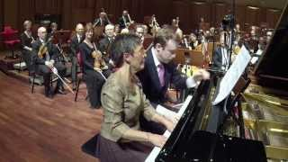 Maria João Pires and Daniel Harding in Grieg